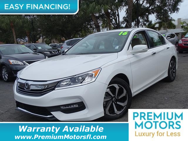 2016 HONDA ACCORD SEDAN 4DR I4 CVT EX LOADED CERTIFIED WARRANTY Dont Pay Retail Get low month