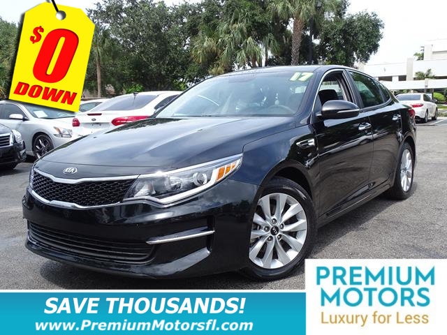 2017 KIA OPTIMA LX AUTOMATIC LUXURY FOR LESS FACTORY WARRANTY At Premiu