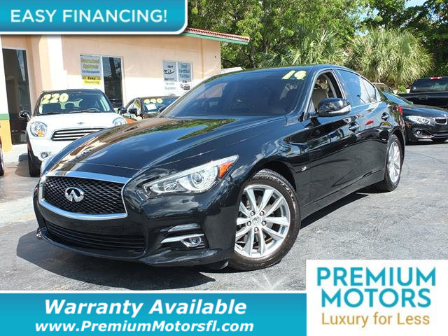2014 INFINITI Q50 4DR SEDAN RWD LOADED CERTIFIED WARRANTY Dont Pay Retail Get low monthly pay