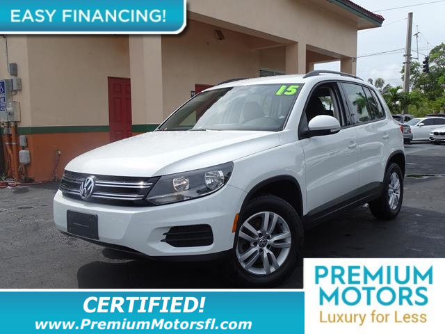 2015 VOLKSWAGEN TIGUAN 4MOTION 4DR AUTOMATIC SE LOADED CERTIFIED MINT CONDITION At Premi