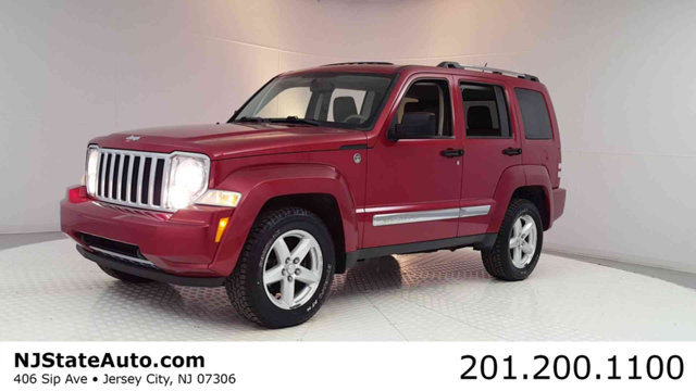 2008 JEEP LIBERTY 4WD 4DR LIMITED Clean CARFAX Red Rock Crystal Pearl 2008 Jeep Liberty Limited 4