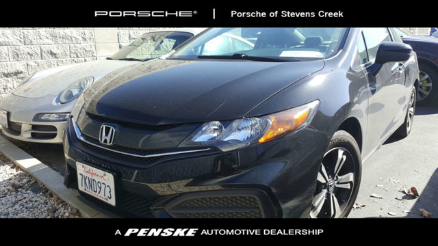 2015 HONDA CIVIC COUPE 2DR CVT EX CARFAX One-Owner Clean CARFAX Black 2015 Honda Civic EX FWD CV