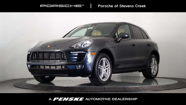 2017 PORSCHE MACAN AWD Wow a one-owner car Only one previous owner Be the talk of the town when