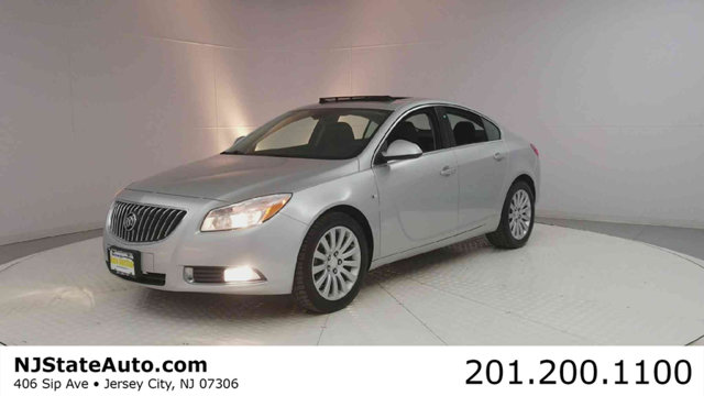 2011 BUICK REGAL 4DR SEDAN CXL RL2 RUSSELSHEIM  Quicksilver Metallic 2011 Buick Regal CXL Russel