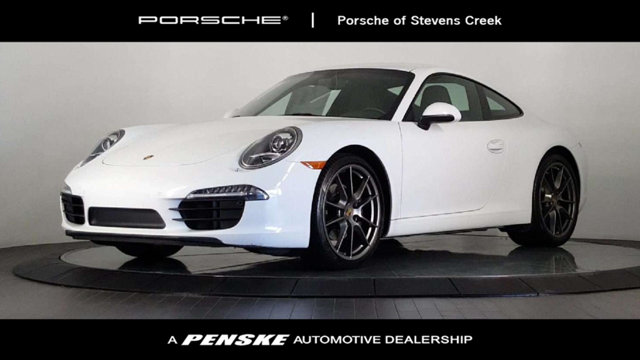 2015 PORSCHE 911 2DR CARRERA Porsche Certified So few miles means its like new Gently used Be