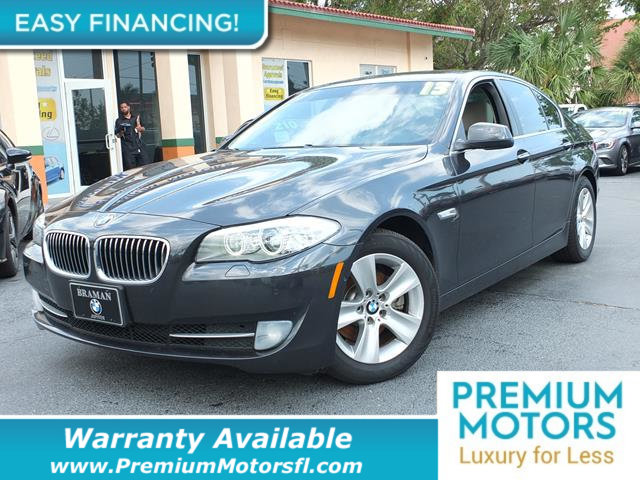2013 BMW 5 SERIES 528I LOADED CERTIFIED WE SAVE YOU THOUSANDS Fully serviced just sign and dri