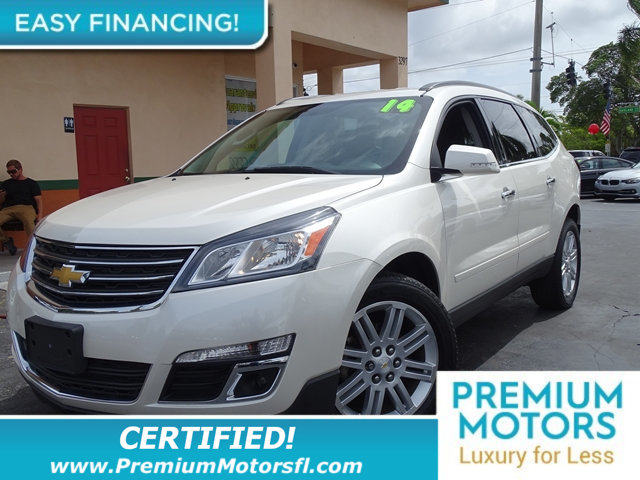 2014 CHEVROLET TRAVERSE AWD 4DR LT W1LT CHEVY FOR LESS SAVE THOUSANDS At Premium Motors we hav