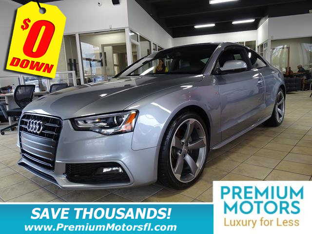 2015 AUDI A5 2DR COUPE AUTOMATIC QUATTRO 20T BUY AND DRIVE WORRY FREE Own this CARFAX 1-Owner an