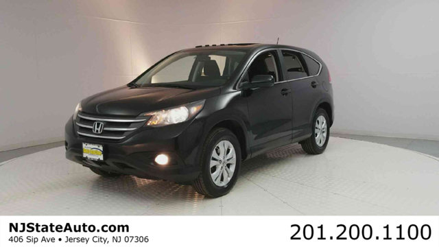 2013 HONDA CR-V AWD 5DR EX Clean CARFAX Crystal Black Pearl 2013 Honda CR-V EX AWD 5-Speed Automa