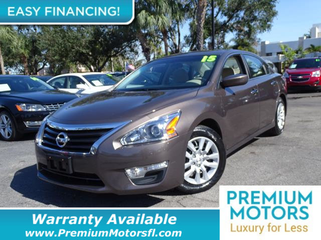 2015 NISSAN ALTIMA  LOADED CERTIFIED WE SAVE YOU THOUSANDS Dont Pay Retail Get low monthly p
