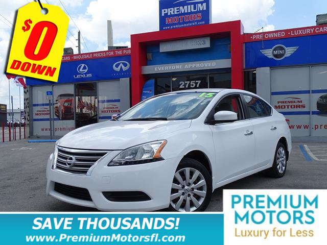 2015 NISSAN SENTRA  LOADED CERTIFIED WE SAVE YOU THOUSANDS Fully serviced just sign and d