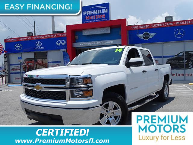 2014 CHEVROLET SILVERADO 1500 2WD CREW CAB 1435 LT W1LT CHEVY FOR LESS SAVE THOUSANDS At Prem