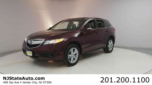 2014 ACURA RDX AWD 4DR Clean CARFAX Basque Red Pearl 2014 Acura RDX AWD 6-Speed Automatic 35L V6