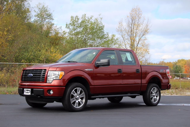 2014 FORD F-150 4WD SUPERCREW 145 STX WARRANTY INCLUDED A Factory Warranty is included with this