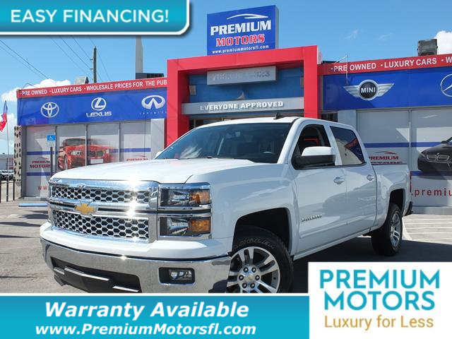 2015 CHEVROLET SILVERADO 1500 LT LOADED CERTIFIED WE SAVE YOU THOUSANDS Fully serviced just si