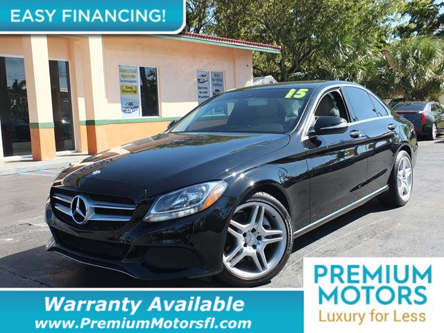 2015 MERCEDES C-CLASS 4DR SEDAN C 300 RWD LOADED CERTIFIED WE SAVE YOU THOUSANDS Fully serviced