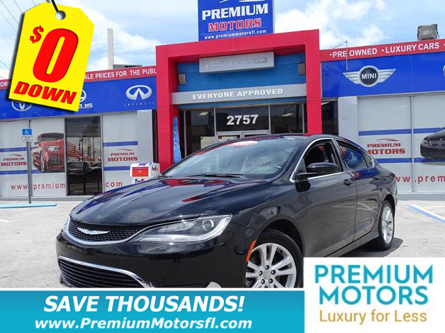 2016 CHRYSLER 200 4DR SEDAN LIMITED FWD LOADED SAVE THOUSANDS At Premiu
