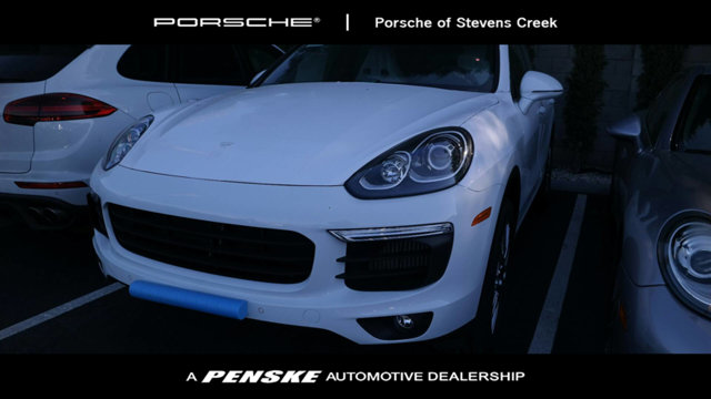 2017 PORSCHE CAYENNE S AWD Porsche Certified Porsche Certified Pre-Owned means you not only get t