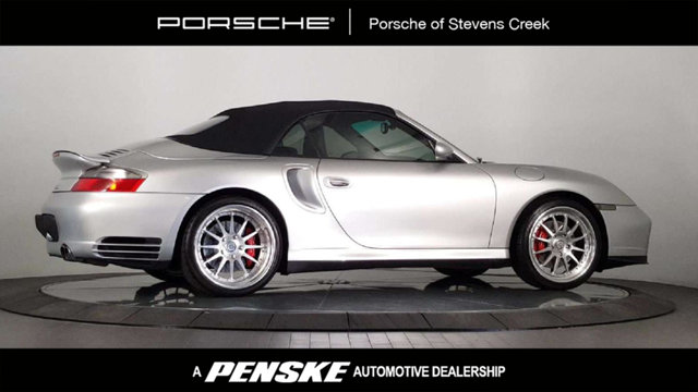 2004 PORSCHE 911 2DR CABRIOLET TURBO 6-SPEED MANU