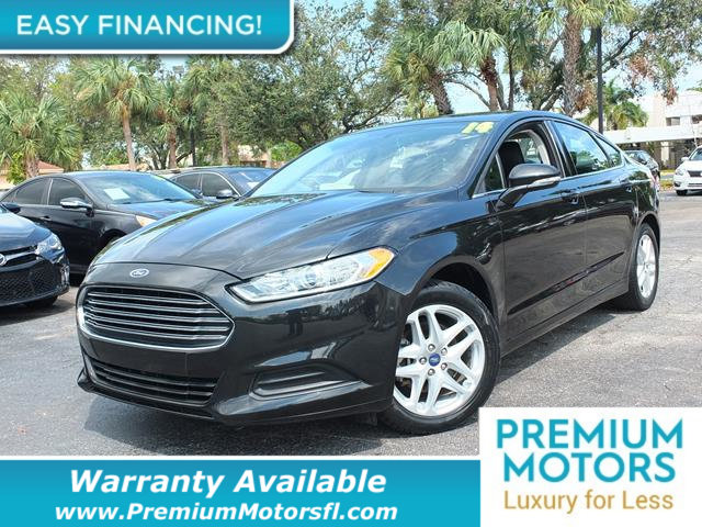2014 FORD FUSION 4DR SEDAN SE FWD LOADED CERTIFIED WARRANTY Dont Pay Retail Get low monthly p