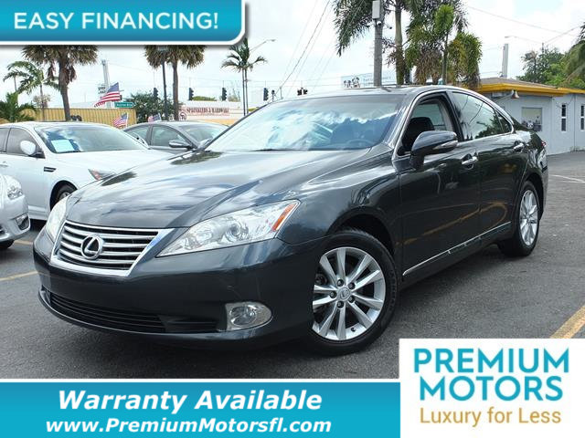 2010 LEXUS ES 350 4DR SEDAN LOADED CERTIFIED WARRANTY Dont Pay Retail Get low monthly payment