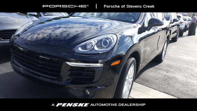 2018 PORSCHE CAYENNE AWD LOADED WITH VALUE Comes equipped with Black Partial Leather Seat Trim