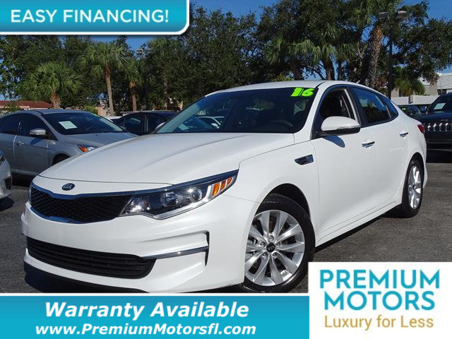 2016 KIA OPTIMA 4DR SEDAN LX LOADED CERTIFIED WE SAVE YOU THOUSANDS Dont Pay Retail Get low m