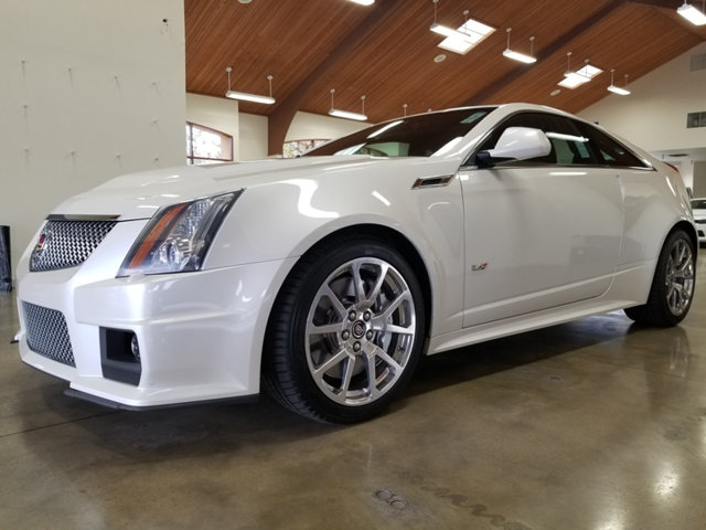 2012 CADILLAC CTS-V COUPE ONE OWNERDEALER MAINTAINED BUY WITH CONFIDENCE CARFAX 1-Owner CTS