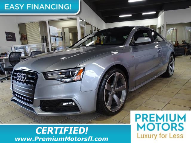 2015 AUDI A5 2DR COUPE AUTOMATIC QUATTRO 20T BUY WITH CONFIDENCE CARFAX 1-Owner A5 and CARFAX Bu
