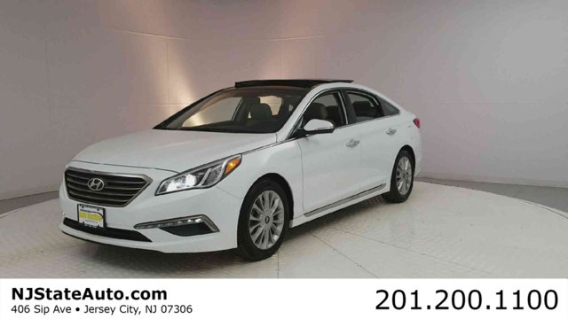 2015 HYUNDAI SONATA 4DR SEDAN 24L LIMITED PZEV CARFAX One-Owner Clean CARFAX Quartz White Pearl