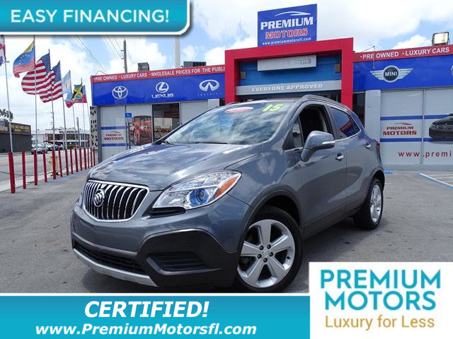 2015 BUICK ENCORE FWD 4DR LOADED CERTIFIED WE SAVE YOU THOUSANDS Fully serviced just sign and
