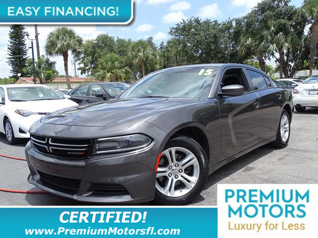 2015 DODGE CHARGER 4DR SEDAN SE RWD LOADED CERTIFIED WE SAVE YOU THOUSANDS Fully serviced just