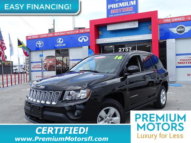2016 JEEP COMPASS FWD 4DR HIGH ALTITUDE EDITION LOADED CERTIFIEDFACTORY WARRANTY Fully ser