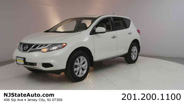 2014 NISSAN MURANO AWD 4DR S CARFAX One-Owner Clean CARFAX Glacier Pearl 2014 Nissan Murano S AWD