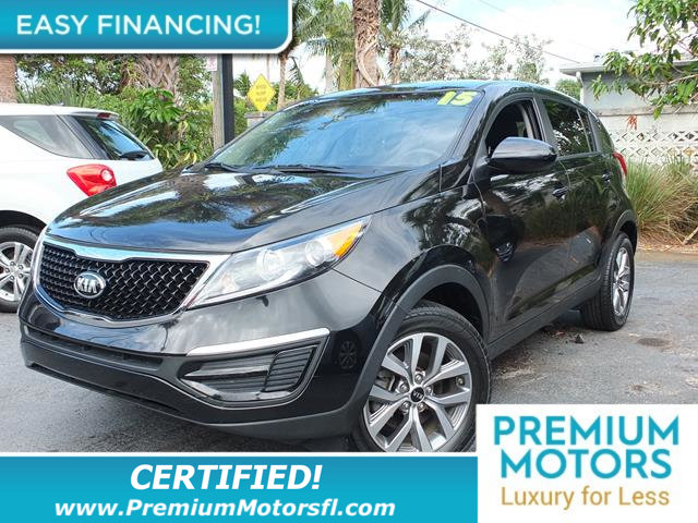 2015 KIA SPORTAGE 2WD 4DR LX LOADED CERTIFIED WE SAVE YOU THOUSANDS Fully serviced just sign a