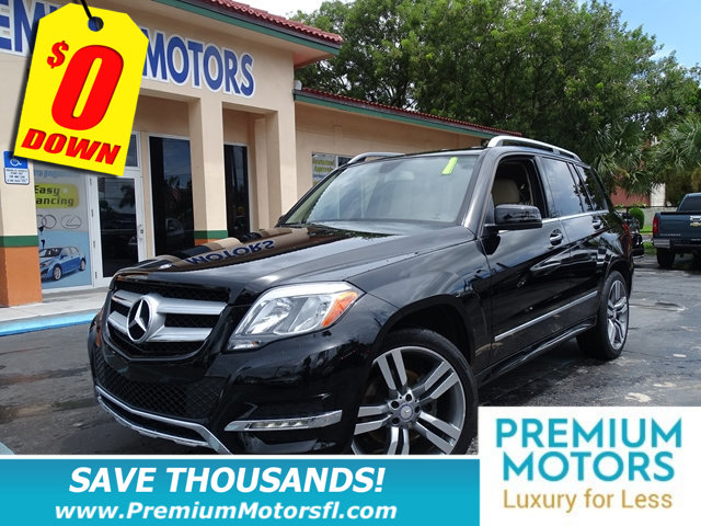 2014 MERCEDES GLK RWD 4DR GLK 350 HUGE SALE FACTORY WARRANTY At Premium Mo