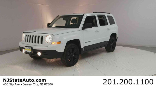 2015 JEEP PATRIOT 4WD 4DR ALTITUDE EDITION CARFAX One-Owner Bright White Clearcoat 2015 Jeep Patr