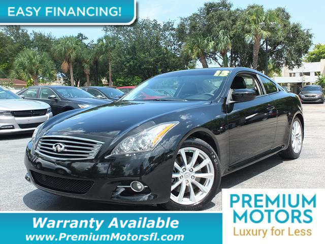 2013 INFINITI G37 COUPE  LOADED CERTIFIED WARRANTY Dont Pay Retail Get low monthly payments o