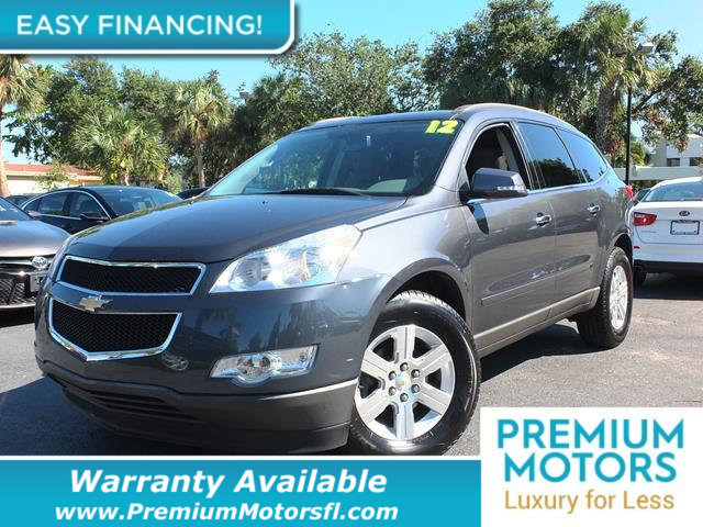 2012 CHEVROLET TRAVERSE FWD 4DR LT W1LT LOADED CERTIFIED WARRANTY Dont Pay Retail Get low mo