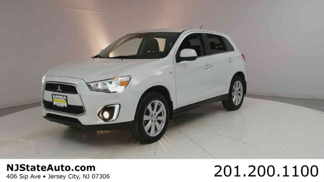2015 MITSUBISHI OUTLANDER SPORT AWD 4DR CVT SE CARFAX One-Owner Clean CARFAX White Pearl 2015 Mit