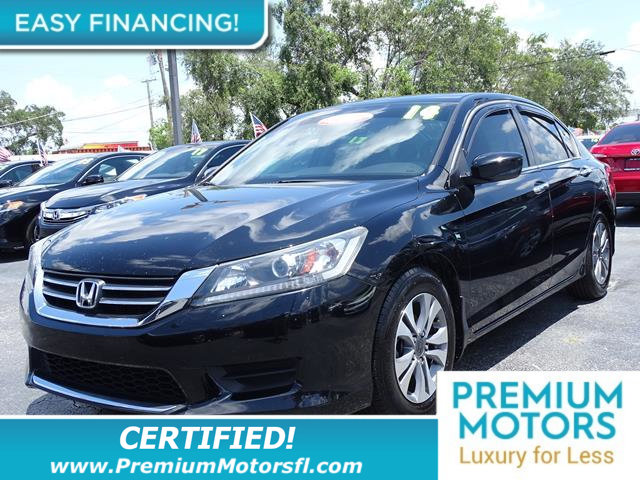 2014 HONDA ACCORD SEDAN 4DR I4 CVT LX LOADED CERTIFIED WE SAVE YOU THOUSANDS Fully service