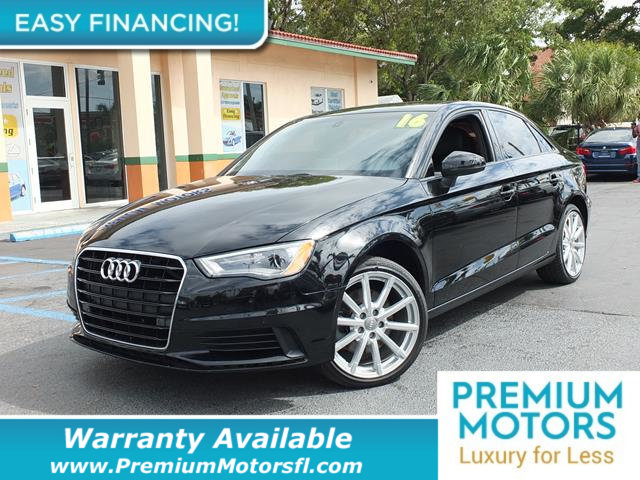 2016 AUDI A3 4DR SEDAN QUATTRO 20T PREMIUM LOADED CERTIFIED FACTORY WARRANTY Dont Pay Retail