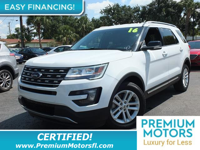 2016 FORD EXPLORER FWD 4DR XLT LOADED CERTIFIED WE SAVE YOU THOUSANDS Fully serviced just sign