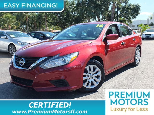 2016 NISSAN ALTIMA 4DR SEDAN I4 25 LOADED CERTIFIED MINT CONDITION and 1000s Below Retail Get
