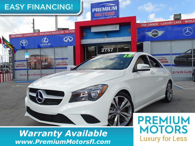 2015 MERCEDES CLA 4DR SEDAN CLA 250 FWD LOADED CERTIFIED WE SAVE YOU THOUSANDS Fully serviced