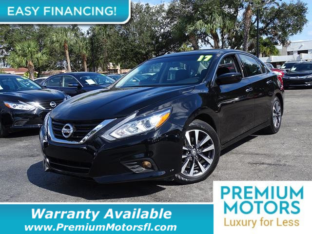 2017 NISSAN ALTIMA  LOADED CERTIFIED WE SAVE YOU THOUSANDS Dont Pay Retail Get low monthly p