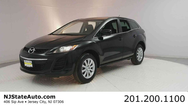 2011 MAZDA CX-7 4DR I SPORT CARFAX One-Owner Brilliant Black 2011 Mazda CX-7 i Sport FWD 5-Speed