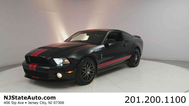 2012 FORD MUSTANG 2DR COUPE SHELBY GT500 Black 2012 Ford Mustang Shelby GT500 RWD Tremec 6-Speed M