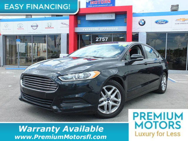 2014 FORD FUSION 4DR SEDAN SE FWD LOADED CERTIFIED WE SAVE YOU THOUSANDS Dont Pay Retail Get