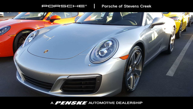 2017 PORSCHE 911 CARRERA COUPE KEY FEATURES AND OPTIONS Comes equipped with 14-Way Power Sport Se